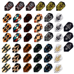 CUESOUL Slim Shape Darts Flights,Set of 45 Pieces
