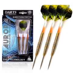 CUESOUL AURORA 21/23g/25g Steel Tip Tungsten Dart Set with Golden Lines