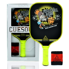 CUESOUL Carbon Fiber 7.7oz. Performance Pickleball Power Paddle
