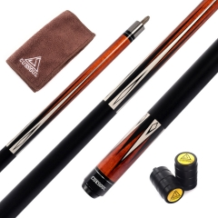 "CUESOUL 58"" CSBK006 19oz Full Maple Pool Cue Stick with Joint Protector/Shaft Protector and Cue Towel"