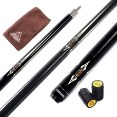 "CUESOUL 58"" CSBK005 19oz Full Maple Pool Cue Stick with Joint Protector/Shaft Protector and Cue Towel"