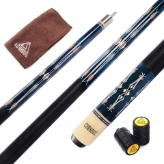 CUESOUL 57 Inch Maple Pool Cue Stick