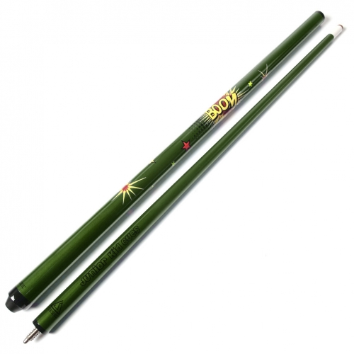 CUESOUL 48 Inch Junior Kid Billiard Cue Stick with Colorful Design