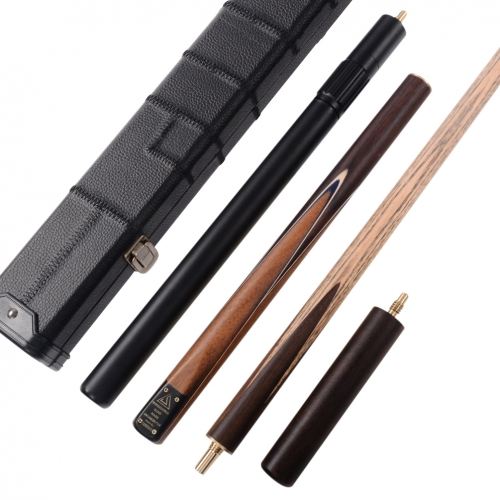 CUESOUL CSSC011 Handcraft 57inch 3/4 Jointed Snooker Cue With Snooker Cue Case