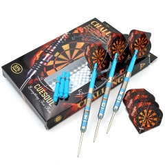 CUESOUL Challenge Series 22/24/26 Grams Professional Tungsten Steel Tip Slim Darts Set