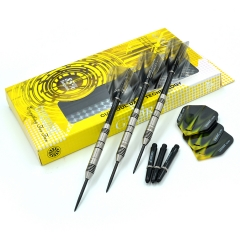 CUESOUL GLORY 22g/24g/26g 85% Tungsten Steel Tip Dart With Black lines