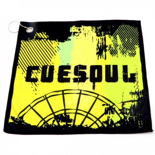 CUESOUL Dart Towel Microfiber Sport Towel with Hanging Hook,Quick Dry