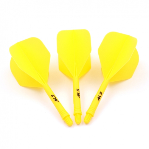 CUESOUL ROST Solid Color Integrated Dart Shaft and Flights Standard Shape,Set of 3 pcs