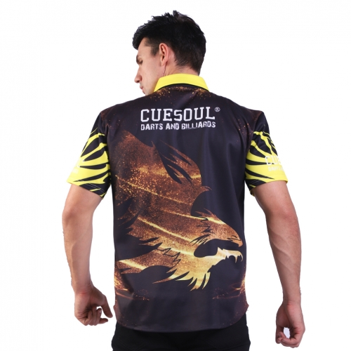 CUESOUL Breathable Dart Shirt Can be Personalised for Teams Dart Shirt-Fit