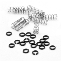 CUESOUL Replacement Rings and Springs for AK7 Dart Stem/Shaft