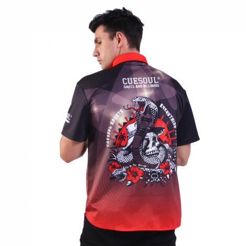 CUESOUL Breathable Dart Shirt Can be Personalised for Teams Dart Shirt-(loose)