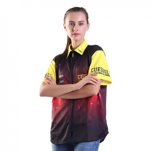 CUESOUL Breathable Dart Shirt Can be Personalised for Teams Dart Shirt-S