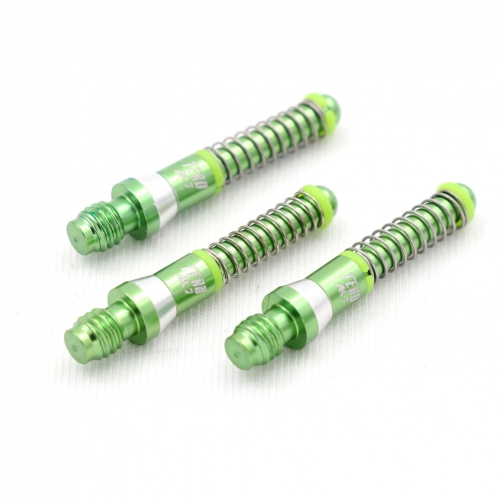 CUESOUL TERO FLIGHT SYSTEM AK7 (A Size) Aluminum Dart Shafts Built-in Spring Telescopic,Set of 3 pcs