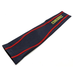 CUESOUL Compression Arm Sleever,Blue/Red,Cooling Ice Silk Arm Protector for Dart Player,Unisex with 4 sizes.