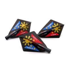 TERO Flight System (LOURENCE'THE GUNNER' ILAGAN Edition)AK4 Dart Flights Diamond Shape,Set of 3 pcs