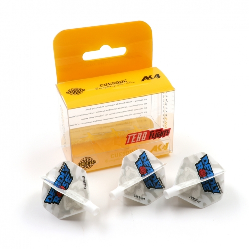 CUESOUL TERO Flight System (John Michael Edition)AK4 Dart Flights Standard Shape,Set of 3 pcs