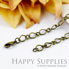10pcs 70cm Antique Bronze Long Chain Necklace (06945)