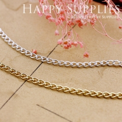 3.3 feet Nickel Free - High Quality 2.5x3.5mm Chains (VB01)