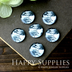 10pcs 12mm Hand Woman Handmade Photo Glass Cabochon GC12-038