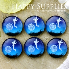 10pcs 12mm Elves Handmade Photo Glass Cabochon GC12-684
