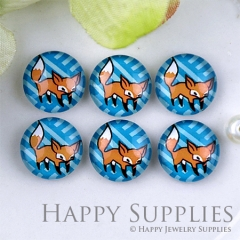 10pcs 12mm Squirrel Handmade Photo Glass Cabochon GC12-1229