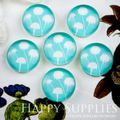 10pcs 12mm Dandelion Handmade Photo Glass Cabochon GC12-084