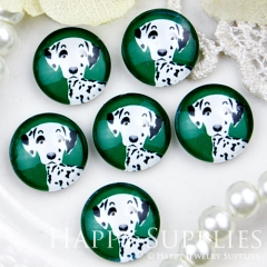 10pcs 12mm Dog Handmade Photo Glass Cabochon GC12-411