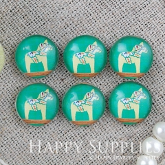 10pcs 12mm Horse Handmade Photo Glass Cabochon GC12-952