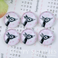 10pcs 12mm Giraffe Handmade Photo Glass Cabochon GC12-1158