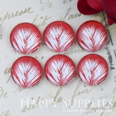 10pcs 12mm Leaf Leaves Handmade Photo Glass Cabochon GC12-1132