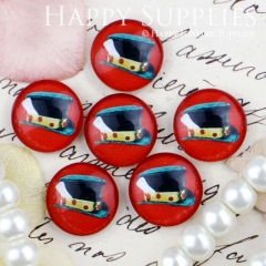 10pcs 12mm Coffee Cup Handmade Photo Glass Cabochon GC12-432