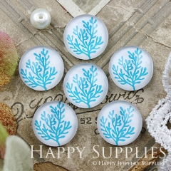 10pcs 12mm Leaf Leaves Handmade Photo Glass Cabochon GC12-882