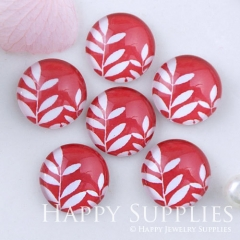 10pcs 12mm Leaf Leaves Handmade Photo Glass Cabochon GC12-1131
