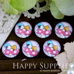 10pcs 12mm Child Handmade Photo Glass Cabochon GC12-244