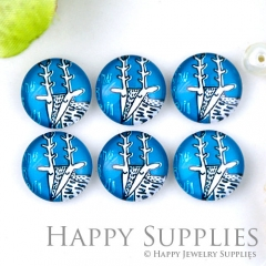 10pcs 12mm Goat Handmade Photo Glass Cabochon Glass Bead GC12-1284