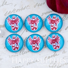 10pcs 12mm Gift Handmade Photo Glass Cabochon GC12-1105