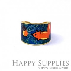 1pcs Squirrel pineal Handmade Photo Brass Ring PR133