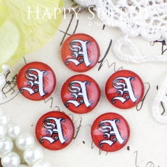 10pcs 12mm A Handmade Photo Glass Cabochon GC12-433