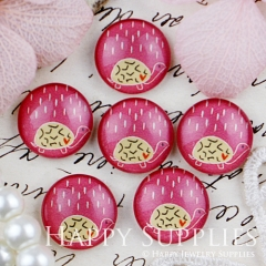 10pcs 12mm Rain Tortoise Handmade Photo Glass Cabochon GC12-449