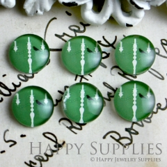10pcs 12mm Bird Handmade Photo Glass Cabochon GC12-060
