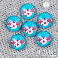 10pcs 12mm Candy Handmade Photo Glass Cabochon GC12-1103