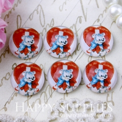 10pcs 12mm Cute Beer Handmade Photo Glass Cabochon GC12-494