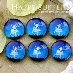 10pcs 12mm Elves Handmade Photo Glass Cabochon GC12-683