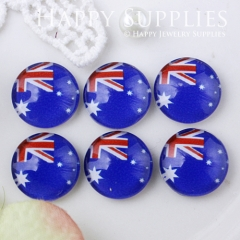 10pcs 12mm National flag Handmade Photo Glass Cabochon GC12-530