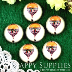 10pcs 12mm Balloon Handmade Photo Glass Cabochon GC12-708