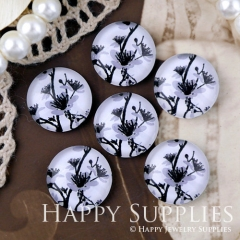 10pcs 12mm Tree Handmade Photo Glass Cabochon GC12-1274