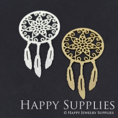 1pcs Dream Catcher Charm Pendant Fit For Necklace Earring Brooch GDSD163