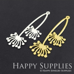 1pcs Dandelion Charm Pendant Fit For Necklace Earring Brooch GDSD145
