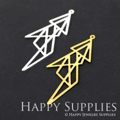 1pcs Geometry Charm Pendant Fit For Necklace Earring Brooch GDSD123