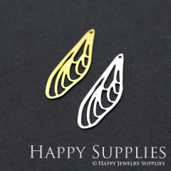 1pcs Dragonfly Wing Charm Pendant Fit For Necklace Earring Brooch GDSD201